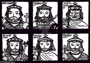 The Byzantine 22-Year-Anarchy, The 6 Emperors