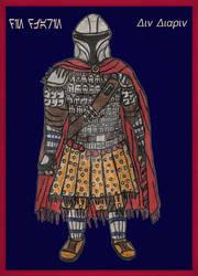 Byzantine Star Wars Crossover- Din Djarin