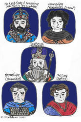 9th Century Byzantine Characters1