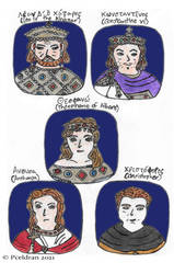 9th Century Byzantine Characters2