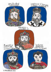 10th Century Byzantine Characters1