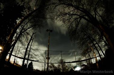 In a night sky 1 by Citruspers