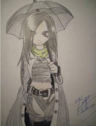 Umbrella Gothic Girl