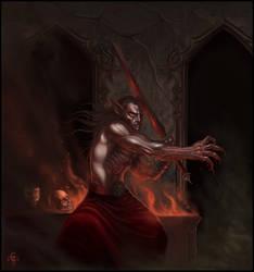 Vampire in Tomb