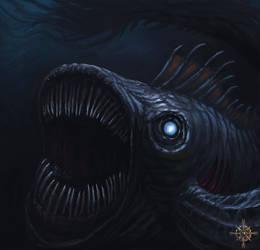 Terror from the deep (speedpainting)