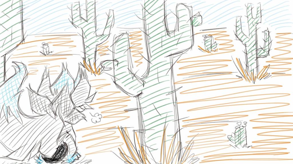 PMDU Task Cactus Field : Friends by CrissyG
