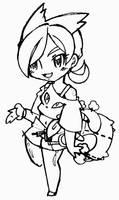 Chibi trainer Pikunyan by CrissyG