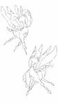 I draw Pretty bugs!