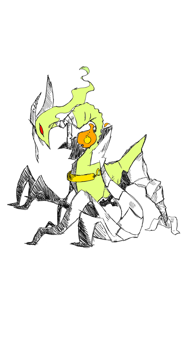 Gheistmon Champion by CrissyG