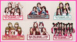 [BIG SHARE] Pack PNG Nine Muses