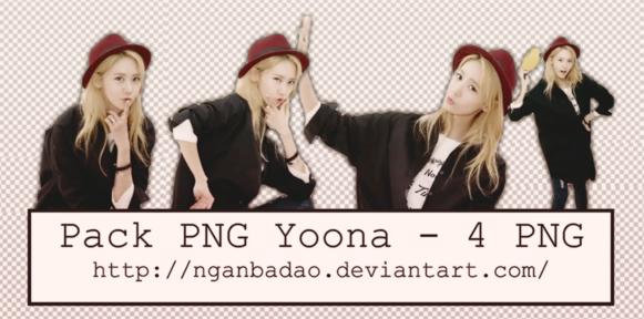 [Pack PNG #104] Yoona by nganbadao