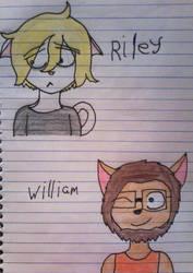 Doodles 4! [Ocs] by kittygirl12316