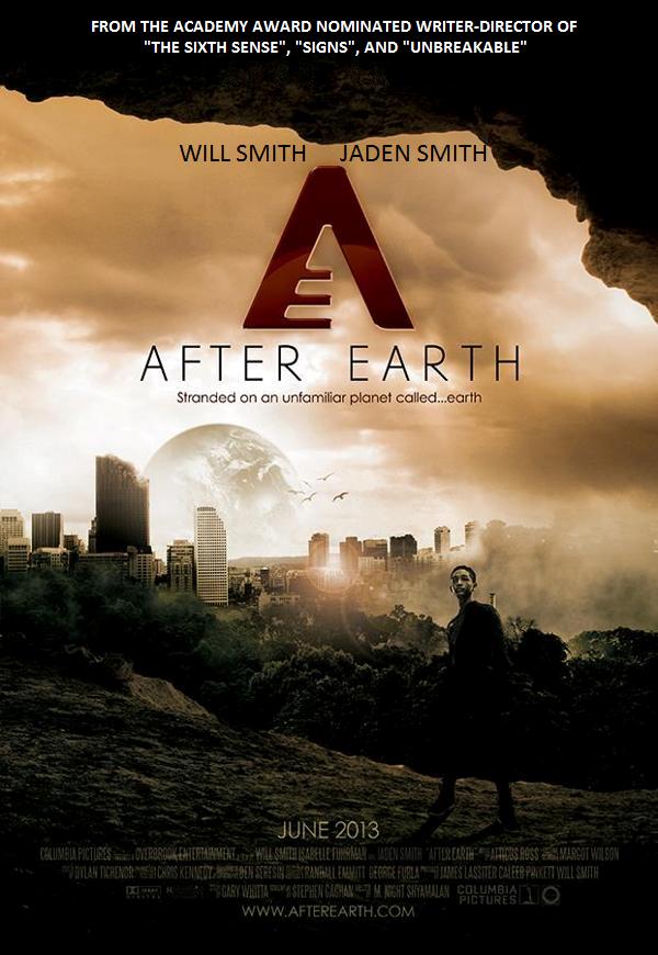AFTER EARTH - fan poster by Proud-Rebel