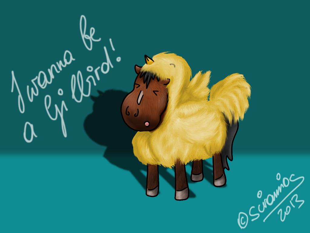 I Wanna Be A Gilbird by siramios