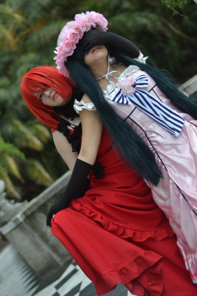 Lady ciel x Madame red by ButtersAnKau