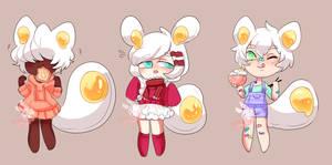 Eggtail Adopts -set 2- closed