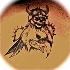 Einherjar tattoo by greatwhiteshark13