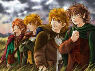 Hobbits 01 by mucun