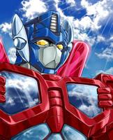 RID Optimus Prime by mucun
