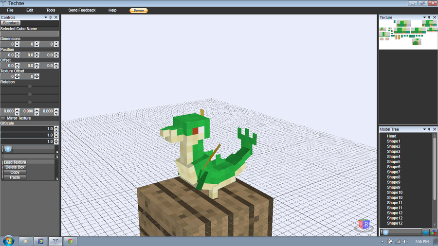 How to make 3d models minecraft with mcreator