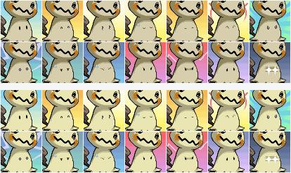 PMD Mimikyu Icons