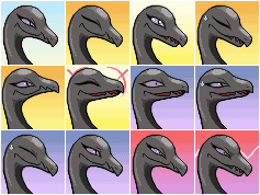 PMD Salazzle Icons