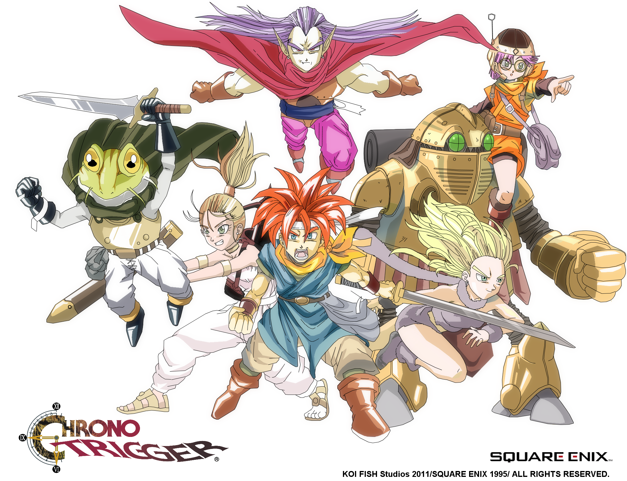 Chrono Trigger By Locus21 by locus21
