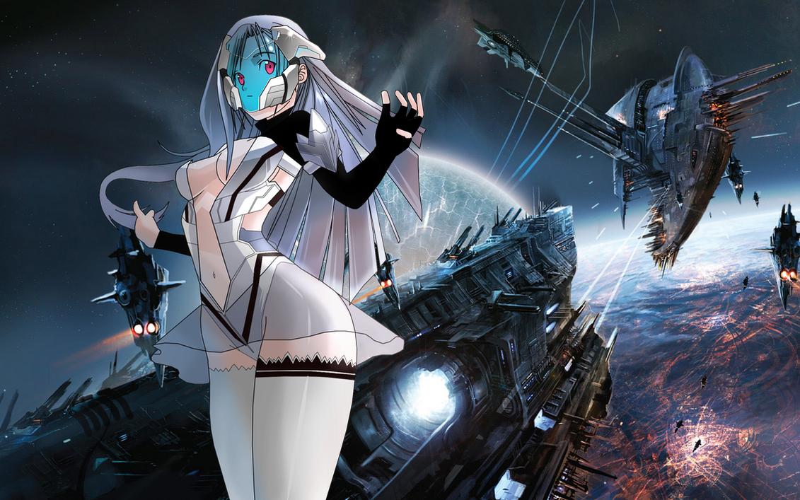 Cyber Girl By Locus21 On Deviantart