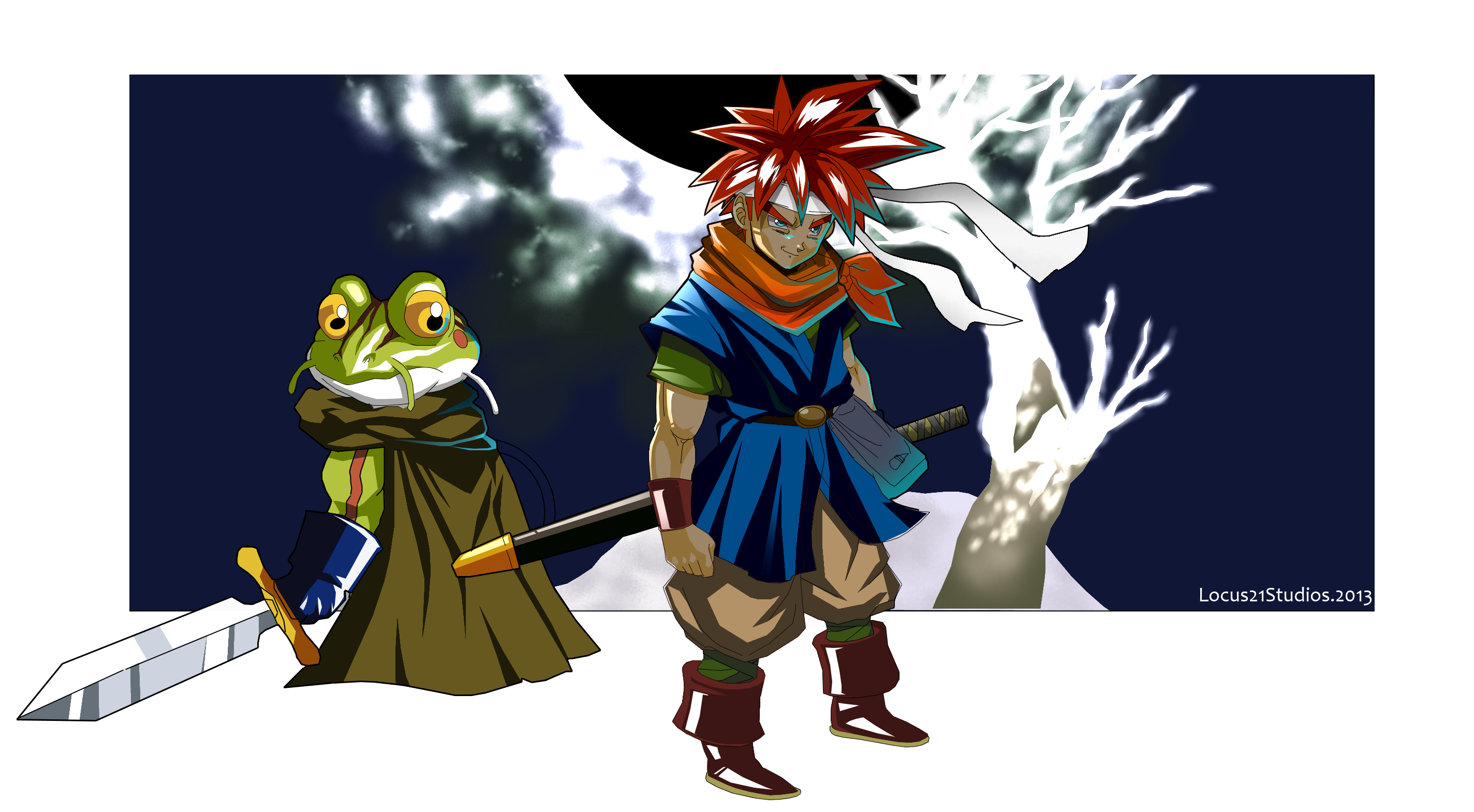 Chrono Trigger Death Peak by locus21 on DeviantArt
