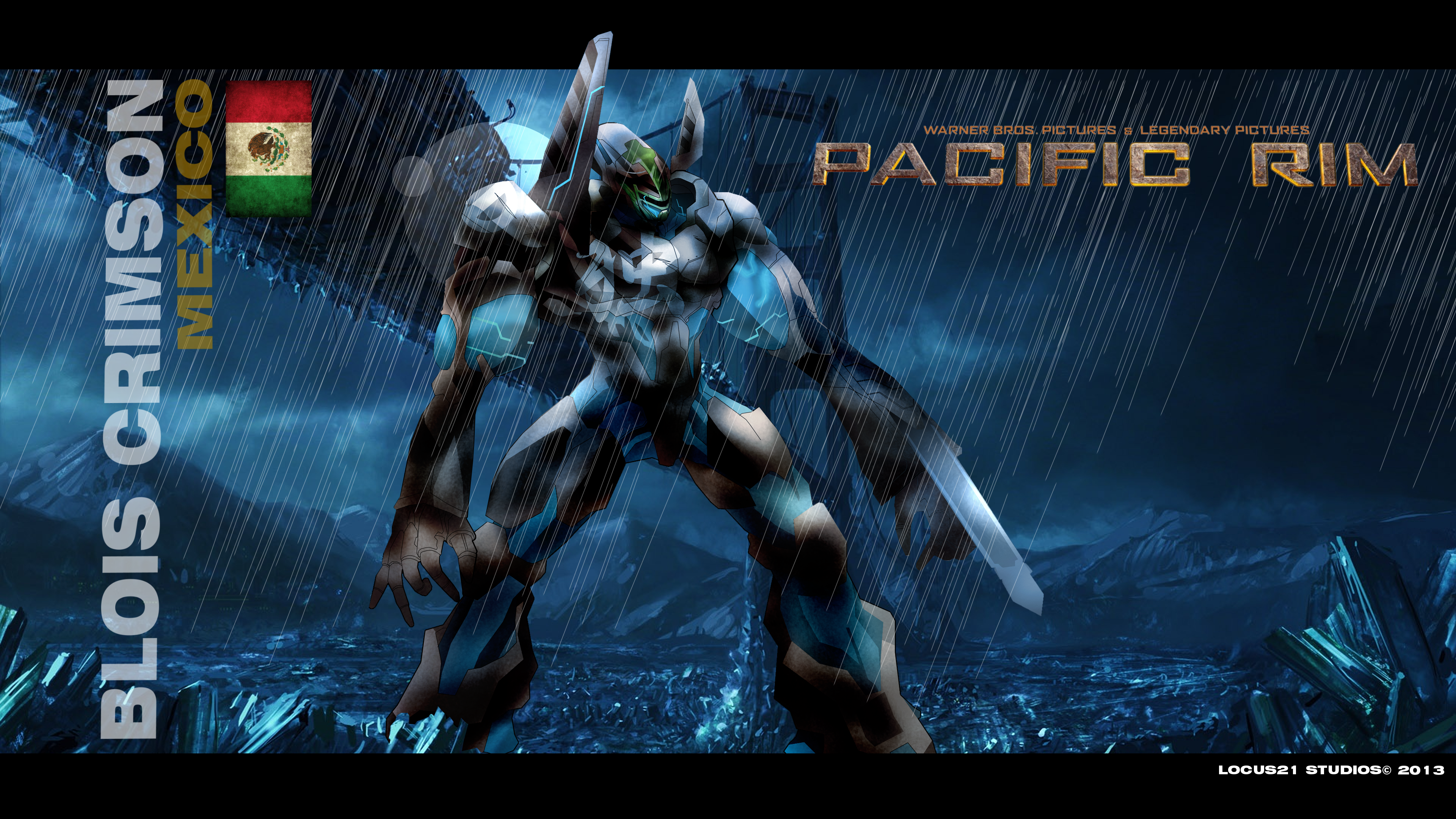 Pacific Rim Mexican Jaeger by locus21 on DeviantArt Pacific Rim Jaeger Stats