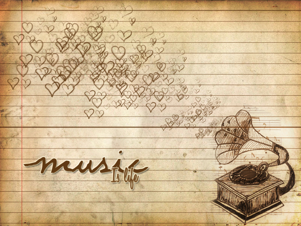 Top Wallpaper Music Deviantart - music_vintage_by_nmpingui  Photograph_76818.jpg