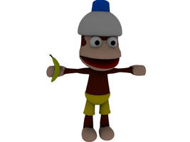 Ape Escape Monkey by SUBWAYJAROD