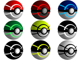 Pokeball: Newage by SUBWAYJAROD
