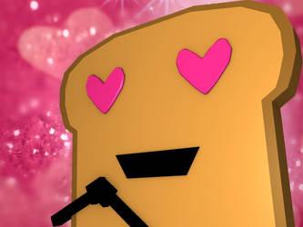 Toast Emotion: Love by SUBWAYJAROD