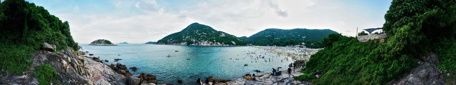 Shek O beach, Hong Kong by MaximilianYuen