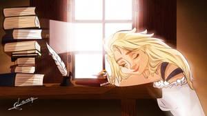 Wake up, Elsa by Lany19
