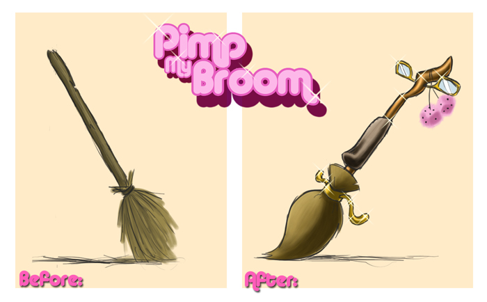 Pimp my Broom by uppuN