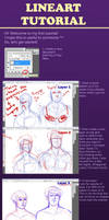 Lineart Tutorial by uppuN