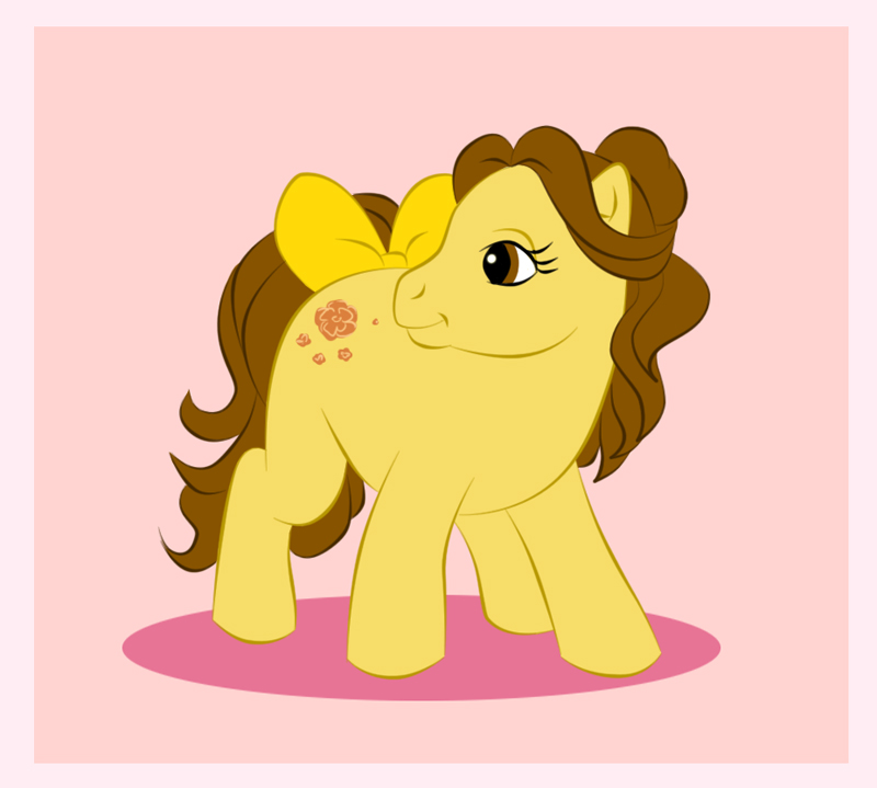 My Little Pony - Belle by uppuN