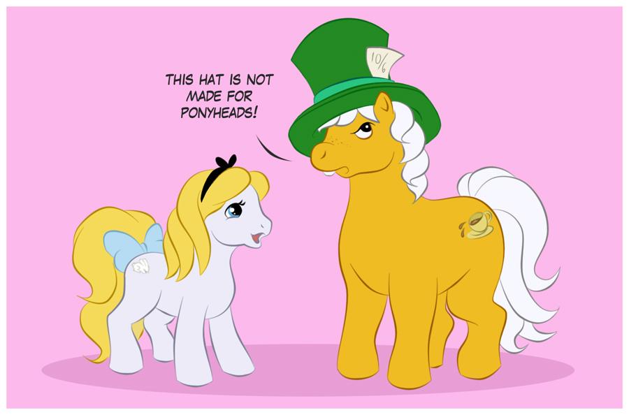 Ponyhead pony by uppuN