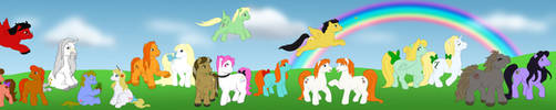 MLP - HP Pony Land by uppuN