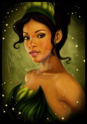 Real Princess - Tiana by uppuN