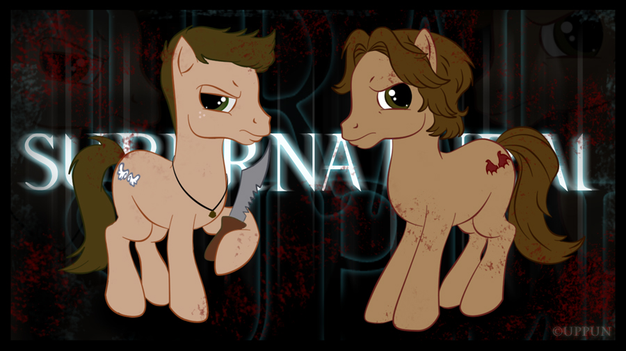 My Supernatural Ponies by uppuN
