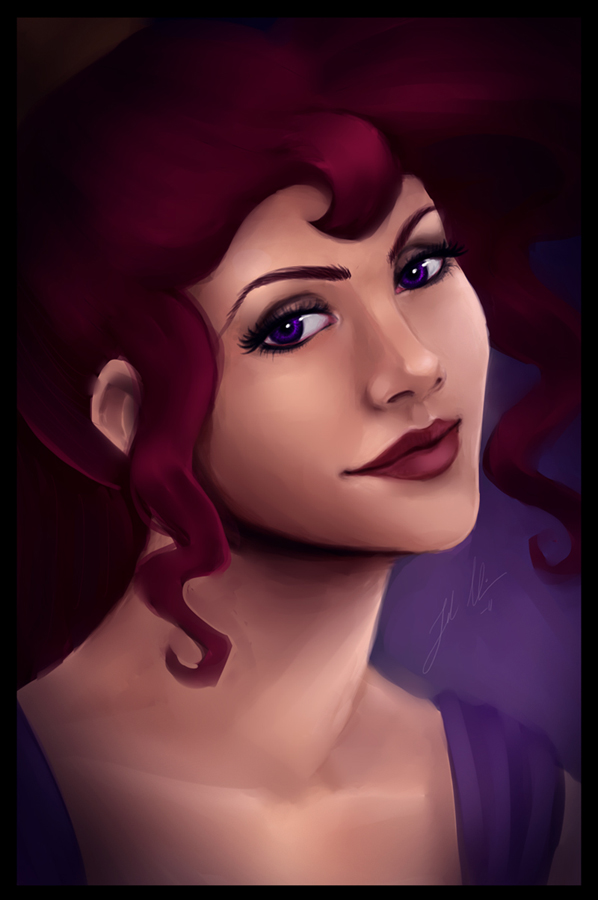 Real Princess - Megara by uppuN