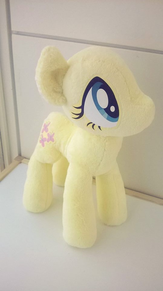 Fluttershy plushie WIP by uppuN
