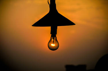 Sunset in Bulb