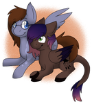 Commission for Dinkie by SilverC236