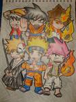 Anime Big 6 by maxfeli32
