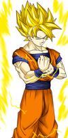 DBZ Kakarotto  Son Goku SSJ2