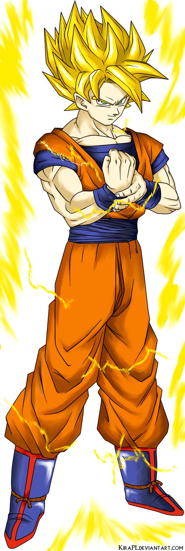 DBZ Kakarotto  Son Goku SSJ2 by KiRaPL